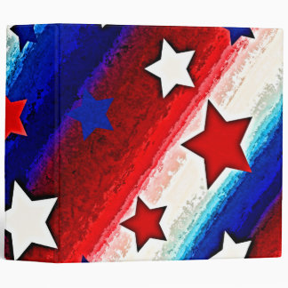 "STARS AND STRIPES 2"" Ring Binder"