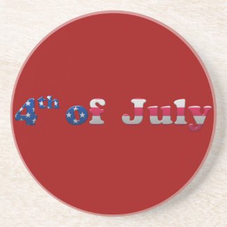 Stars and Stripes 4th of July Coaster