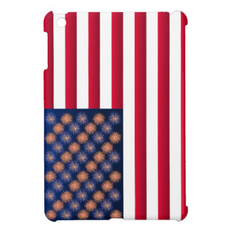 Stars and Stripes 4th of July iPad cases Case For The iPad Mini