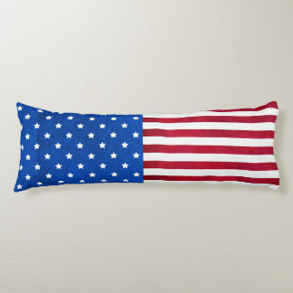 Stars And Stripes-American Flag Body Pillow