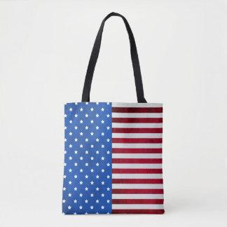 Stars And Stripes-American Flag Tote Bag