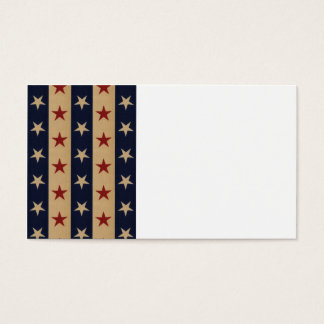Stars and Stripes Americana Business Card