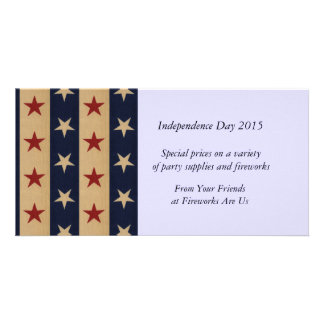 Stars and Stripes Americana Card