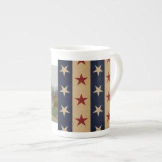 Stars and Stripes Americana Tea Cup