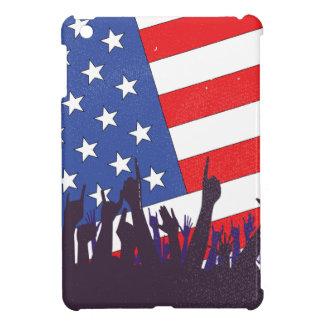 Stars And Stripes Audience iPad Mini Case