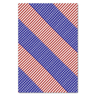 "Stars and Stripes Background 10"" X 15"" Tissue Paper"