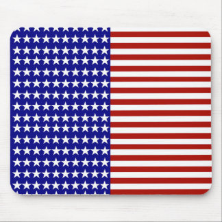 Stars and Stripes Background Mouse Pads