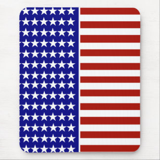 Stars and Stripes Background Mousepads