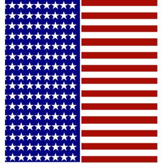 Stars and Stripes Background Statuette