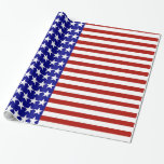 Stars and Stripes Background Wrapping Paper