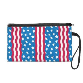 Stars and Stripes bag Wristlet Purse