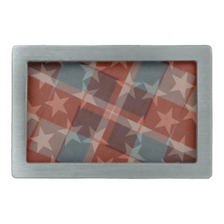 Stars and Stripes Belt Buckle
