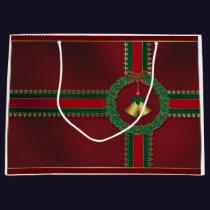 Stars and Stripes Christmas Gift Bag
