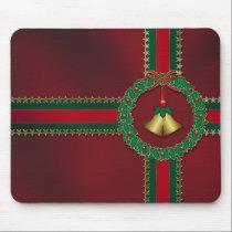 Stars and Stripes Christmas Mousepad