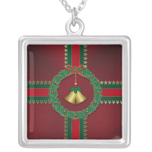 Stars and Stripes Christmas Necklace
