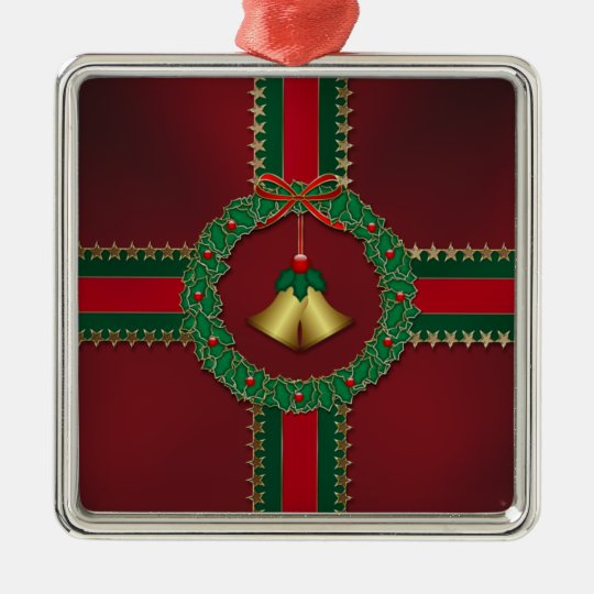 Stars and Stripes Christmas Ornament