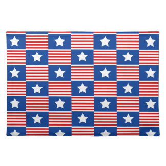 Stars and Stripes Cloth Placemat