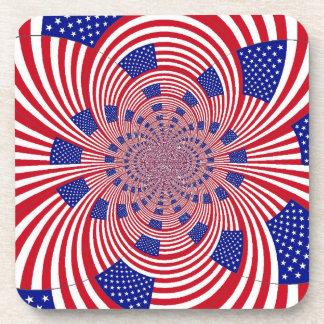 Stars and Stripes Coasters- set of 6 Coaster