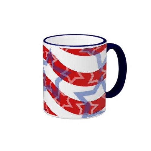 Stars-And-Stripes Coffee Mug