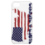 Stars and Stripes Cover For iPhone 5C