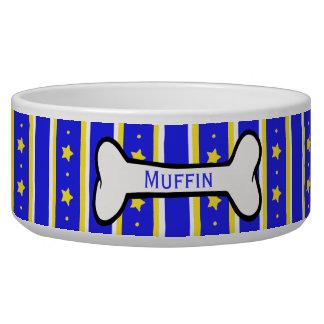 Stars and Stripes Custom Pet Bowl