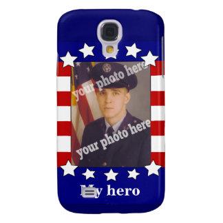 Stars and Stripes Custom Photo Patriotic Speck Samsung Galaxy S4 Case