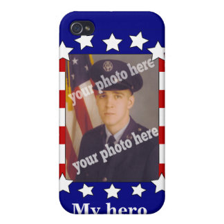 Stars and Stripes Custom Photo Patriotic Speck iPhone 4/4S Case