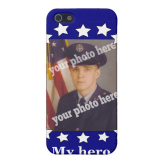 Stars and Stripes Custom Photo Patriotic Speck Cover For iPhone 5