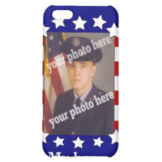 Stars and Stripes Custom Photo Patriotic Speck iPhone 5C Cover