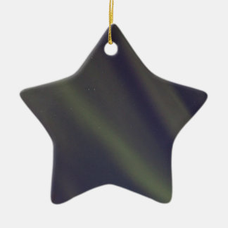 Stars and Stripes Double-Sided Star Ceramic Christmas Ornament