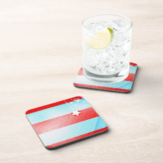 Stars and Stripes Drink Coaster