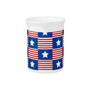 Stars and Stripes Drink Pitchers