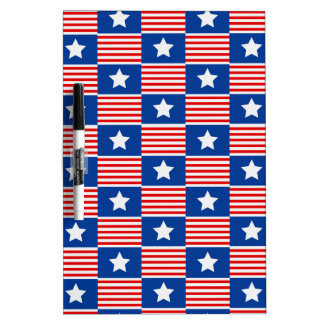 Stars and Stripes Dry-Erase Board