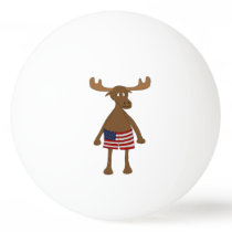 Stars and Stripes, Eh? Ping-Pong Ball