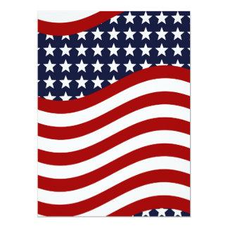 STARS AND STRIPES FOREVER! (American flag design) Card
