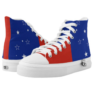 Stars and Stripes Forever High-Top Sneakers