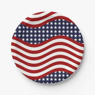 STARS AND STRIPES FOREVER! PAPER PLATE