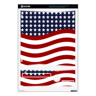 STARS AND STRIPES FOREVER! (patriotic flag design) Xbox 360 S Decals
