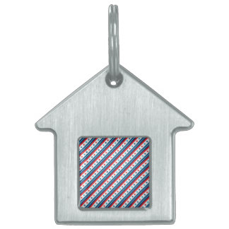 Stars and Stripes Forever Pet Tags
