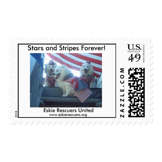 Stars and Stripes Forever! Postage