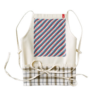 Stars and Stripes Forever Zazzle HEART Apron