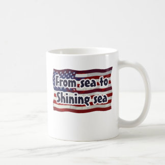Stars and Stripes - From Sea To Shining Sea Mugs