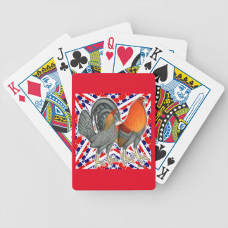 Stars and Stripes Gamefowl Bicycle Playing Cards