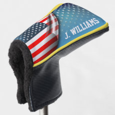 Stars and Stripes Golf Head Cover