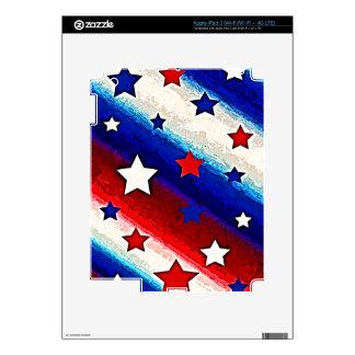 STARS AND STRIPES i Pad Skin Decal For iPad 3