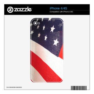 Stars and Stripes iPhone 4 Skin