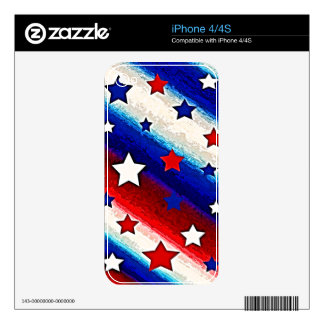 STARS AND STRIPES iPhone Skin Skin For iPhone 4
