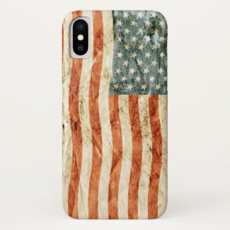 Stars and Stripes iPhone X Case