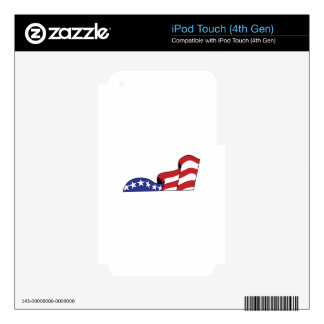 Stars and Stripes iPod Touch 4G Decals