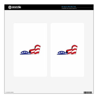 Stars and Stripes Kindle Fire Decals